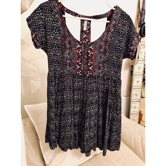 b353ee6c00e Free People Dresses   Skirts - Cute funky summer dress!